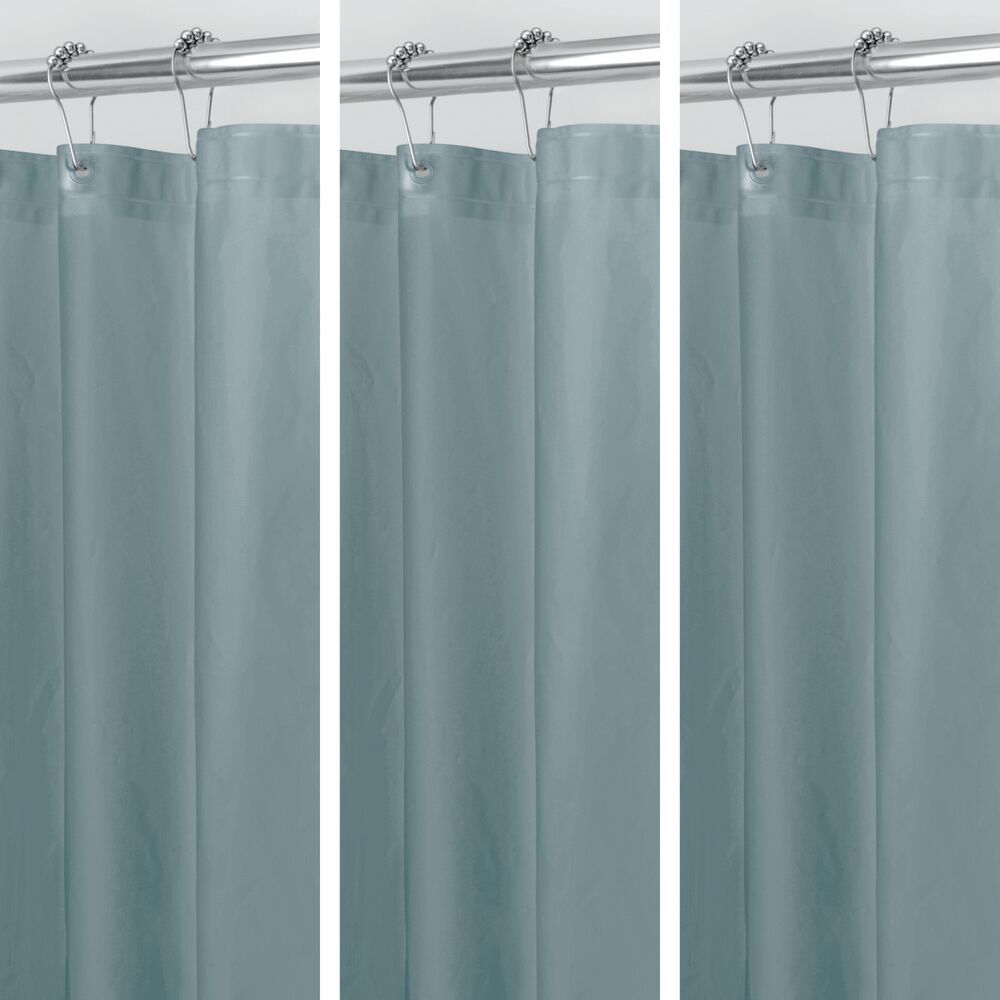 Clear Frost Peva Shower Curtain Liners For Bath 72 X 72 By