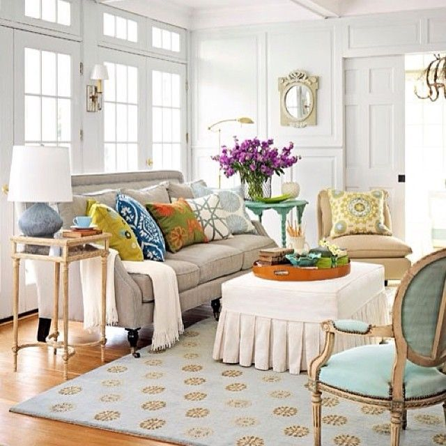Colorful Mismatched Room: ما عندكم فكره من وين تبدون بتأثيث