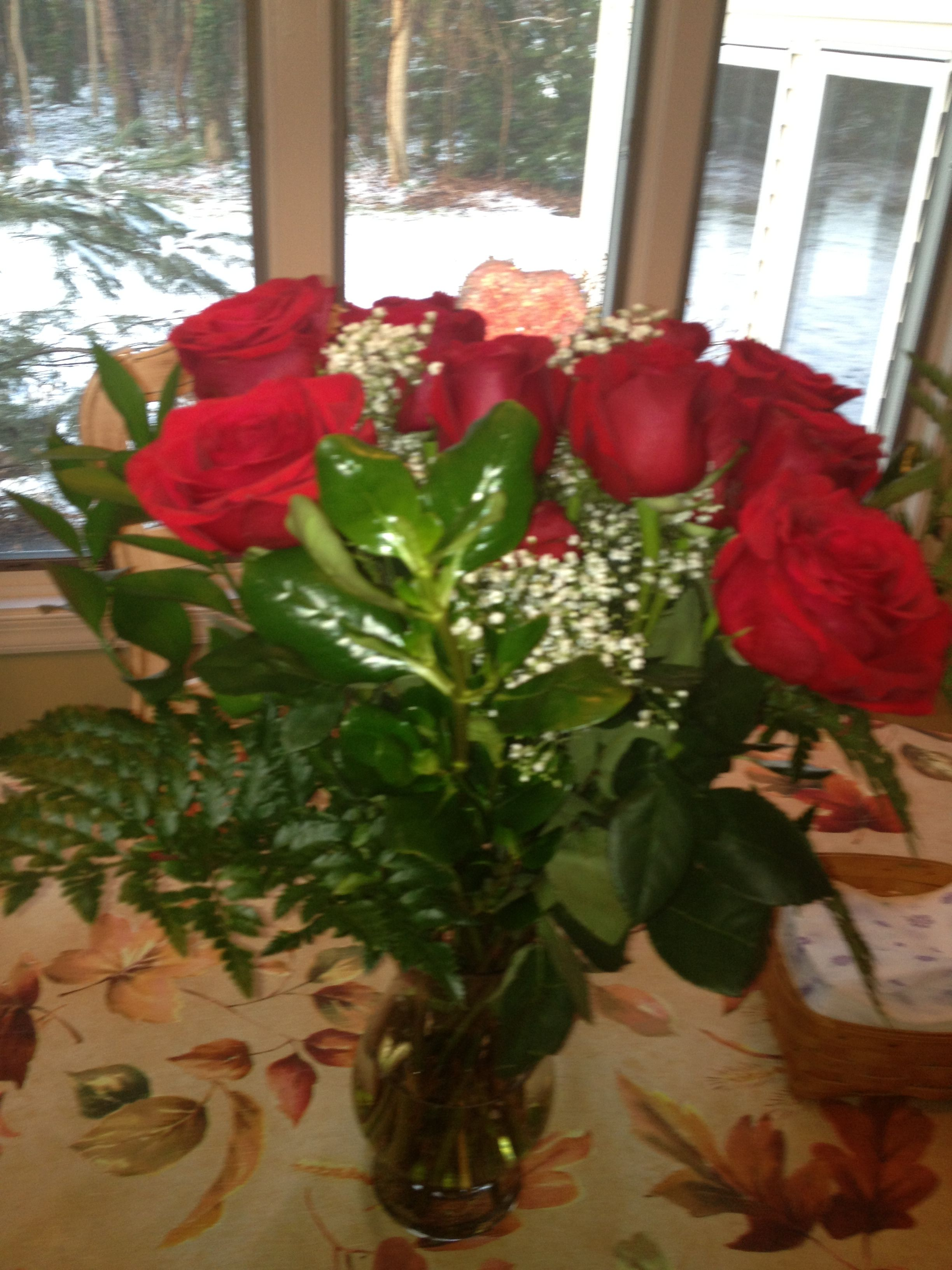 Roses for valentines day