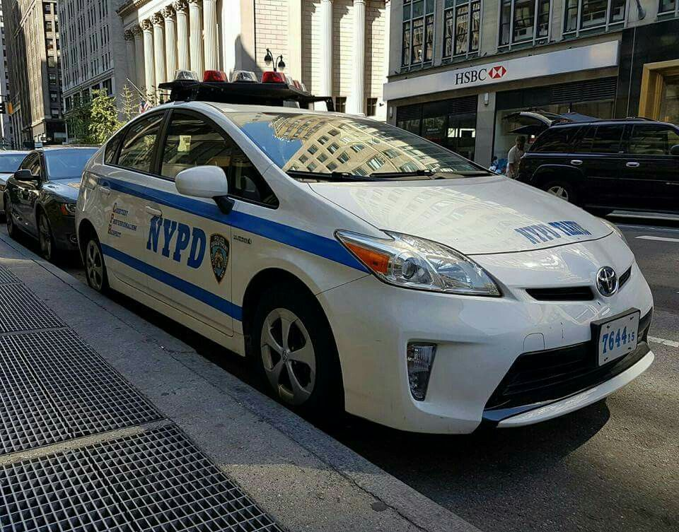 Nypd Toyota Prius Police Vehicles Cars Law Enforcement