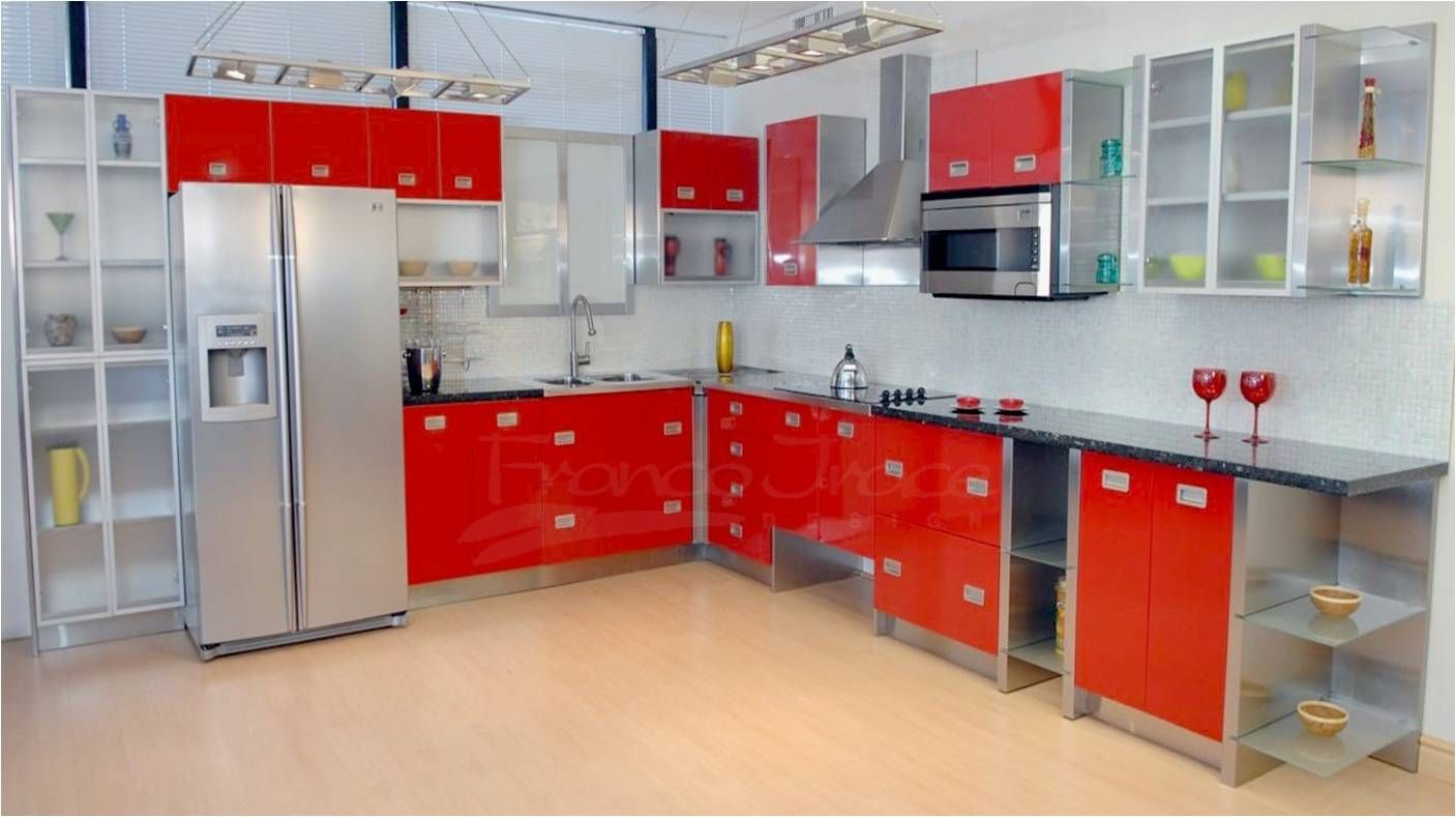 Kitchen Vintage Metal Kitchen Cabinets With Glass Doors How To Steel Kitchen Cabinets Stainless Steel Kitchen Cabinets Metal Kitchen Cabinets