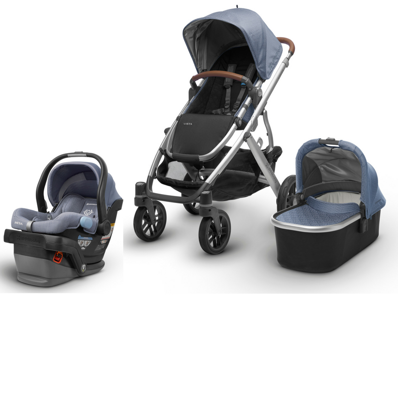 2019 UPPAbaby VISTA and MESA Travel System Travel