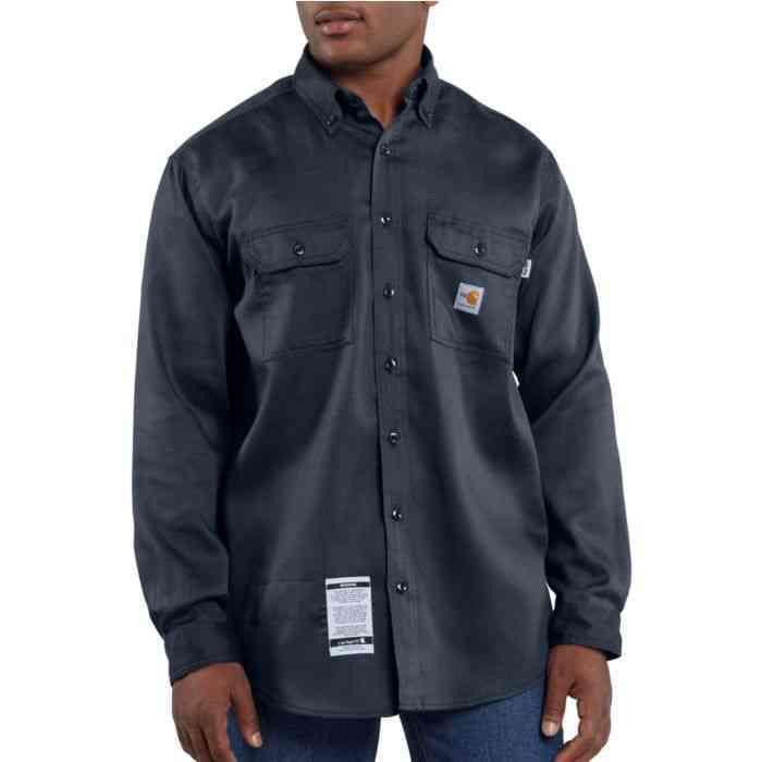 4c6a33f70280 FRS003 Carhartt Men s Flame-Resistant Work-Dry Lightweight Twill Shirt