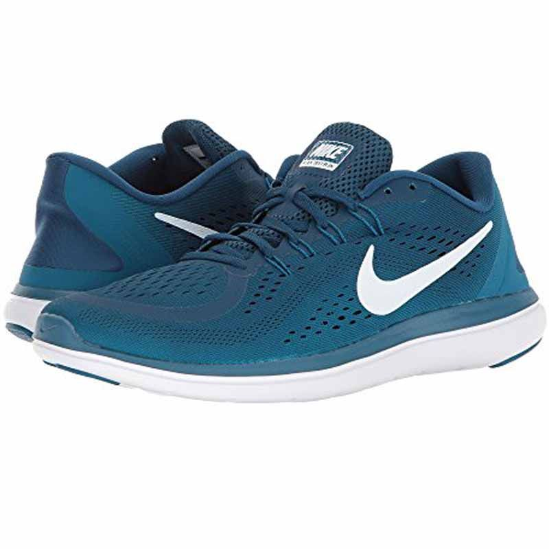 Nike Flex 2017 Rn Blue Green Abyss 898457 405 Men S Pink Nike Shoes Running Shoes For Men Nike Shoes Outfits