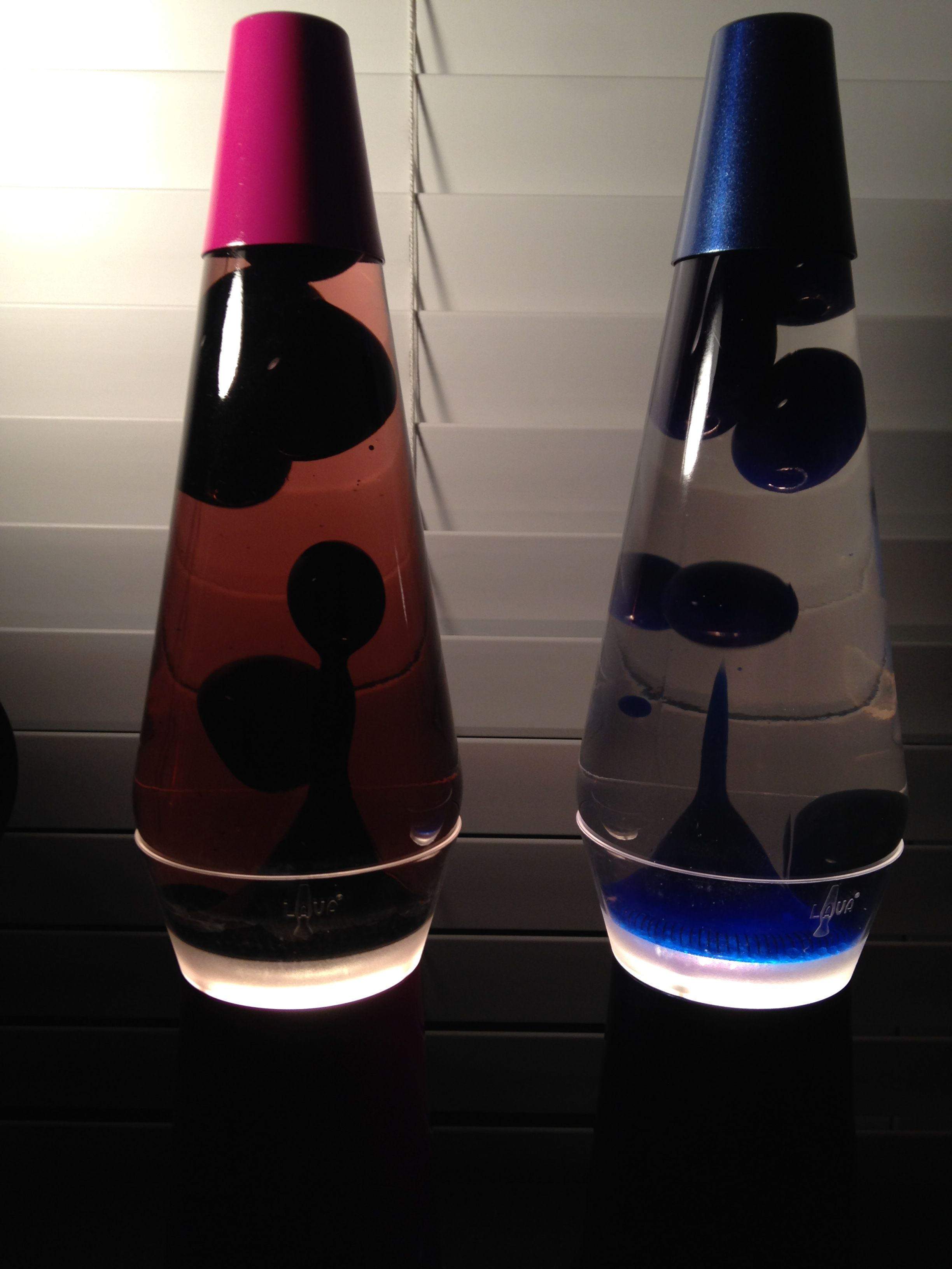 Two 14 Lava Lamps On Clearview Bases Lava Lamp Lamp Novelty Lamp