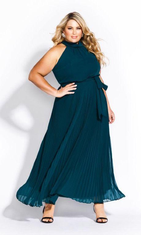 Honour Maxi Dress - emerald  #plussize #plussizeformal #citychic #plussizemaxi #maxi #formal #plussizedresses