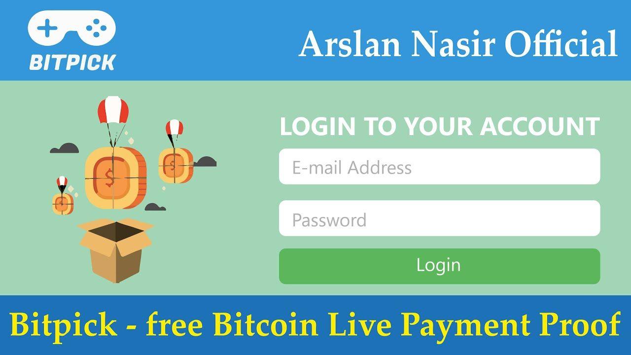 Bitpickco free bitcoin new free bitcoin earning site