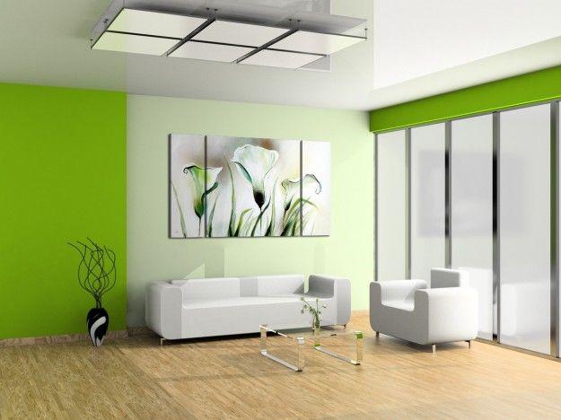 Pittura Per Pareti Ufficio.Abbinamenti Colori Pareti Colori Pareti Salotto Verde Camere