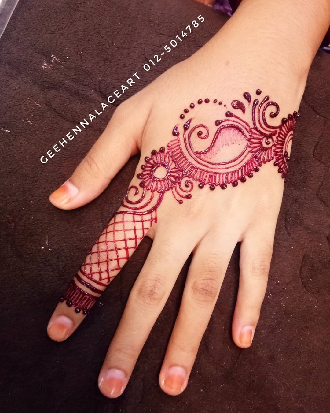 Date 6 7 2018 Bride Wana Location Meru Height Henna Wedding
