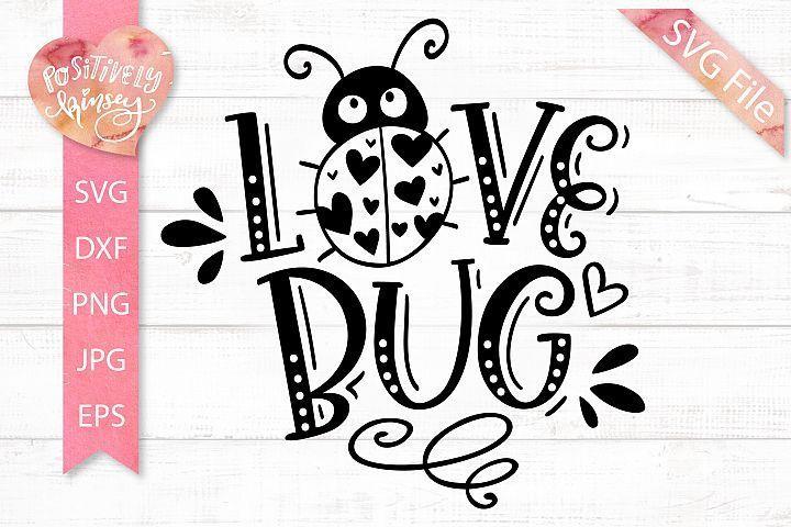 Download Love Bug SVG, Kids Valentine SVG for Baby & Toddler Shirts ...