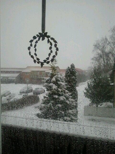 Våd vinterdag i Vordingborg