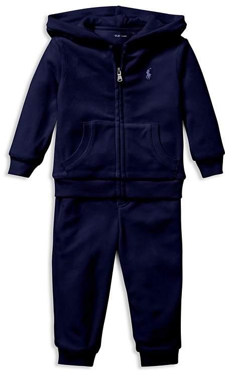 50560525dfd8 Polo Ralph Lauren Ralph Lauren Boys  Velour Hoodie   Pants Set ...