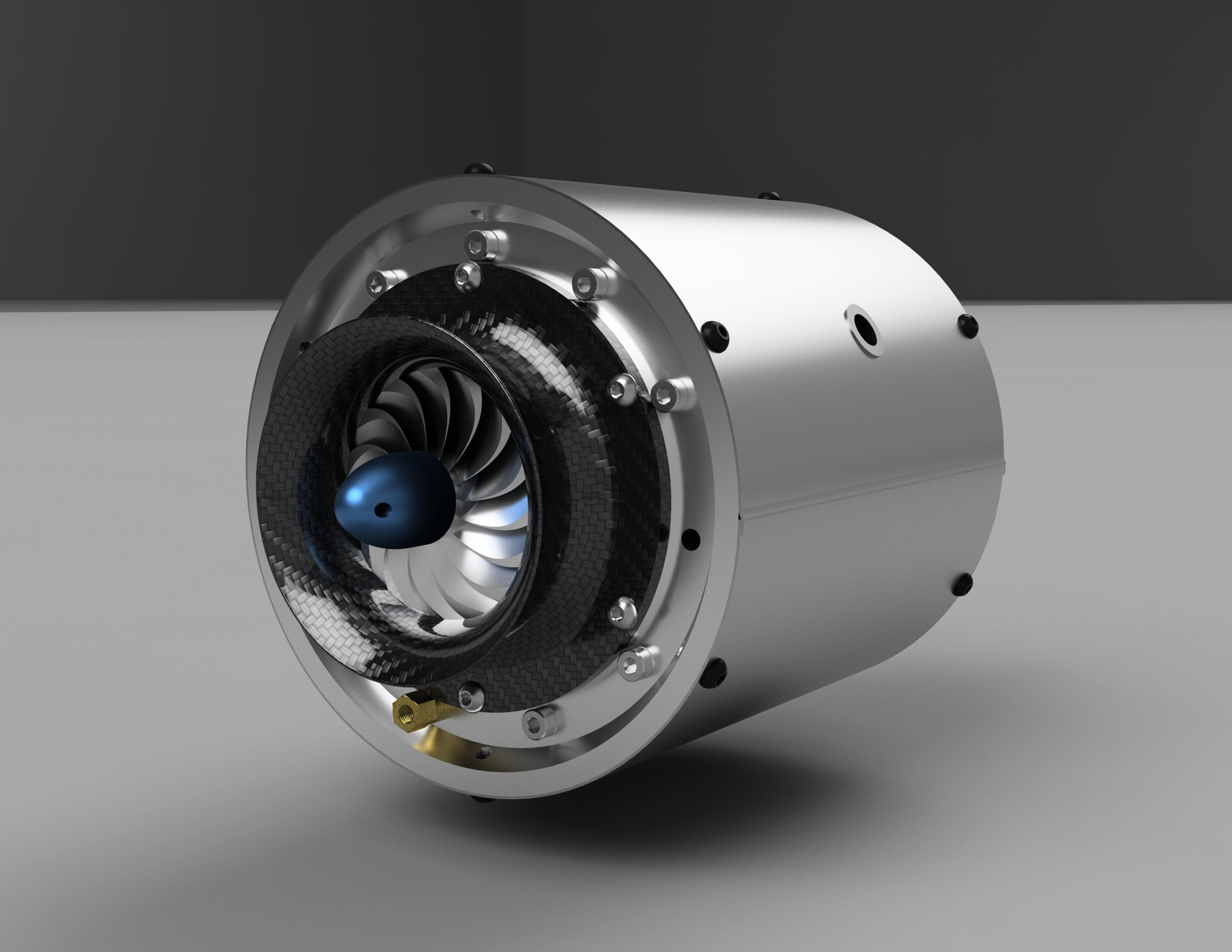 3D Wren Gas Turbine Engine 3D Model 3D Modeling