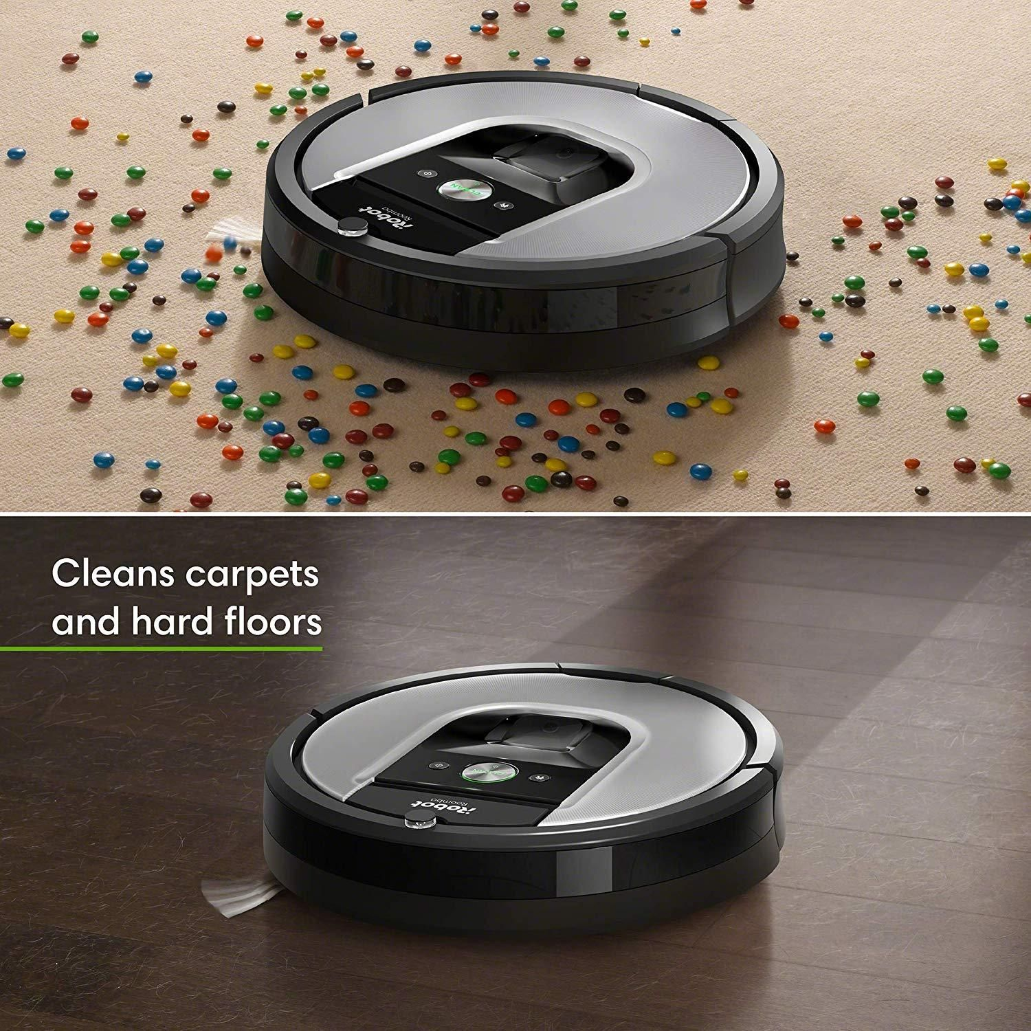 Irobot Roomba 960 Wi Fi Connected Robot Vacuum With Auto Charging