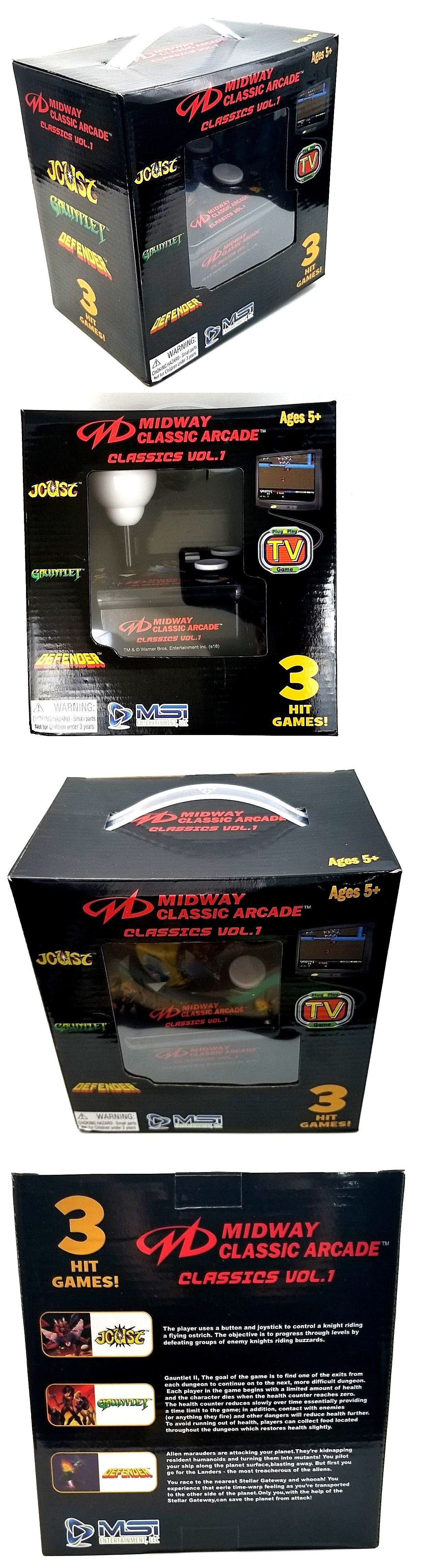 Electronic Games 2540 Midway Classic Arcade Classics Vol