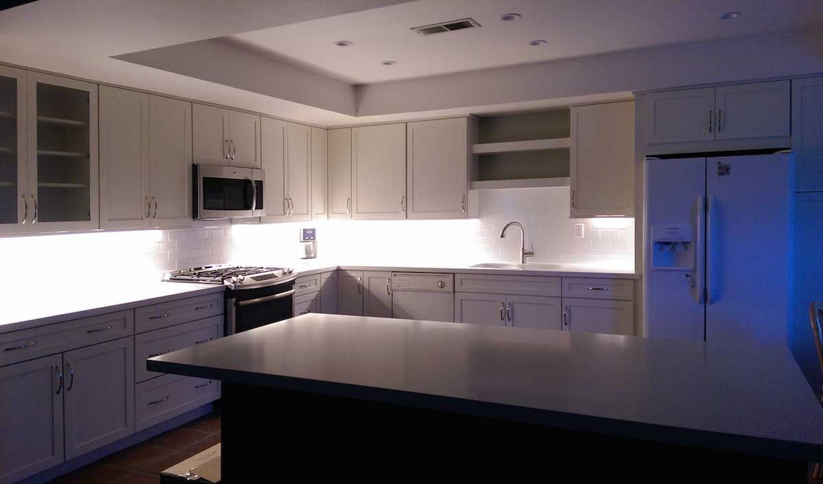 Led Strip Light Under Kitchen Cabinet