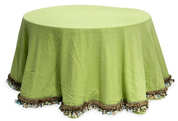 """Table skirt 115"""" Diameter fits 54"""" round table"""