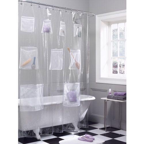 Home Vinyl Shower Curtains Shower Curtains Walmart Shower