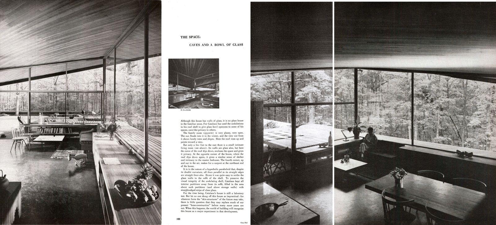 Eduardo Catalano Catalano Residence Raleigh, NC 1954