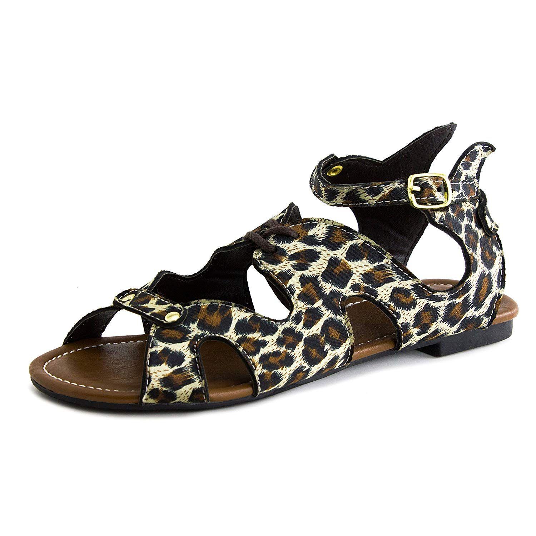 3baddda0e70b32 Women s New Kali Gladiator Angel Wing Open Toe Flats Sandals Footwear-Escape     Very