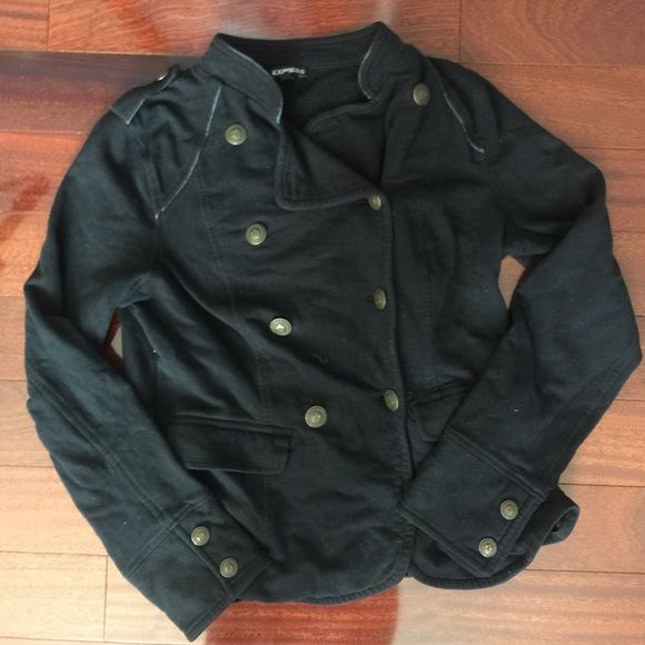 Express coat Pre-loved coat. The material is a little bit faded Express Jackets & Coats