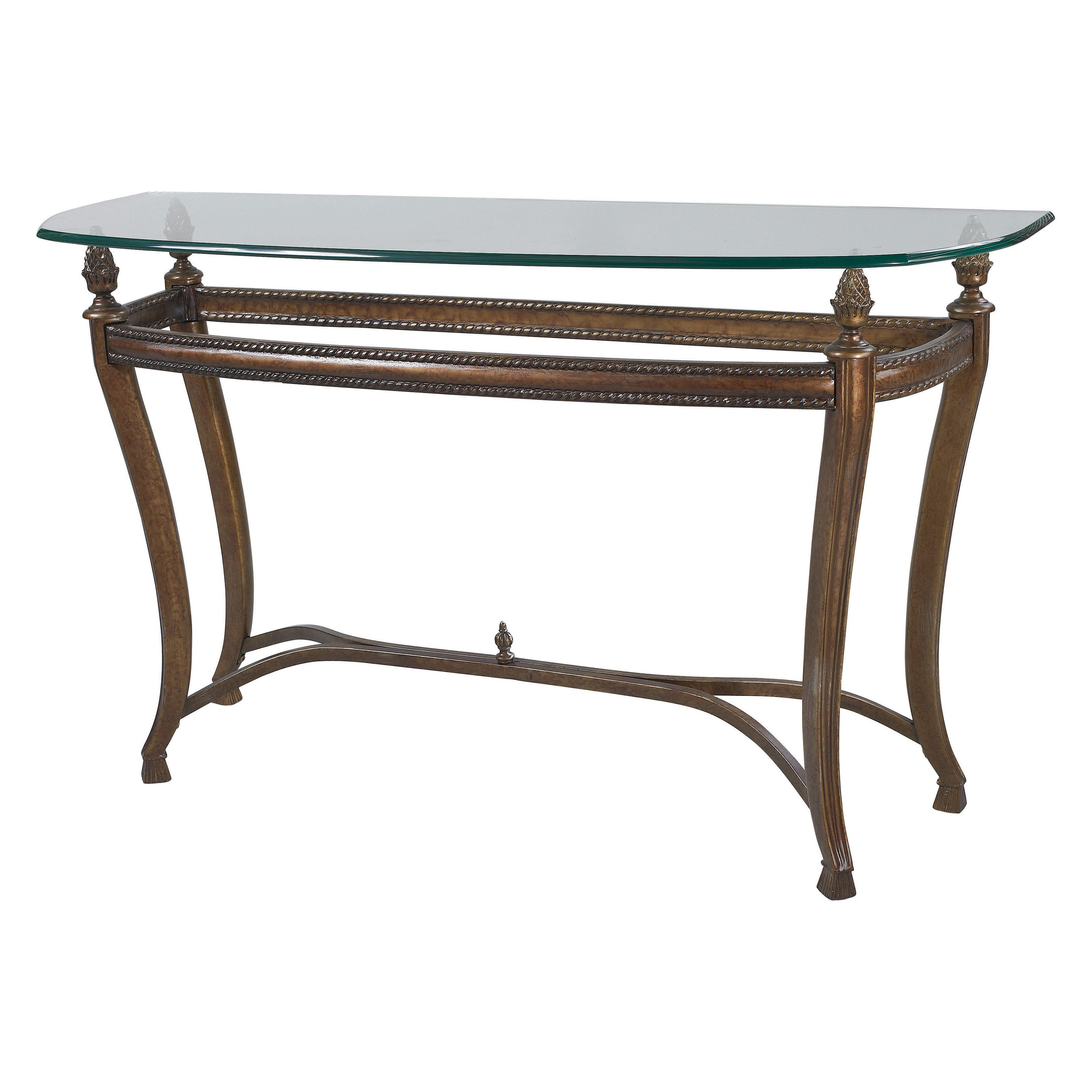 Hammary Suffolk Bay Sofa Table From Hayneedle