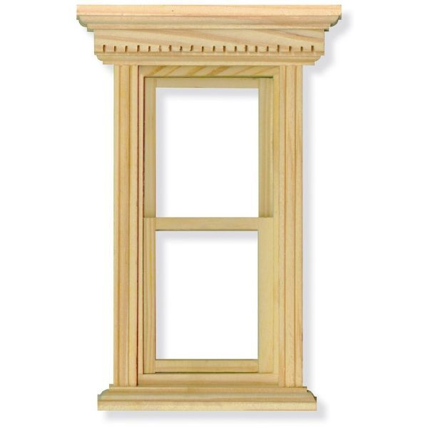 Opening Sash Window Frame for 1:12 Scale Dolls House | Window frames ...