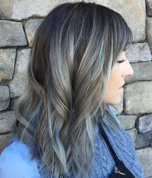 20 Shades Of The Grey Hair Trend Hair Trends Balayage Hair