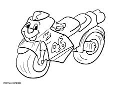 Immagini Di Moto Da Colorare.Disegni Di Moto Da Colorare Portale Bambini Disegni