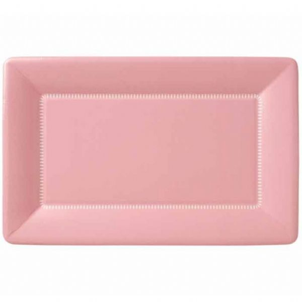 Soft Pink Zing Large Rectangular Cafe Paper Plates  sc 1 st  Pinterest & Soft Pink Zing Large Rectangular Cafe Paper Plates | Ballet Baby ...