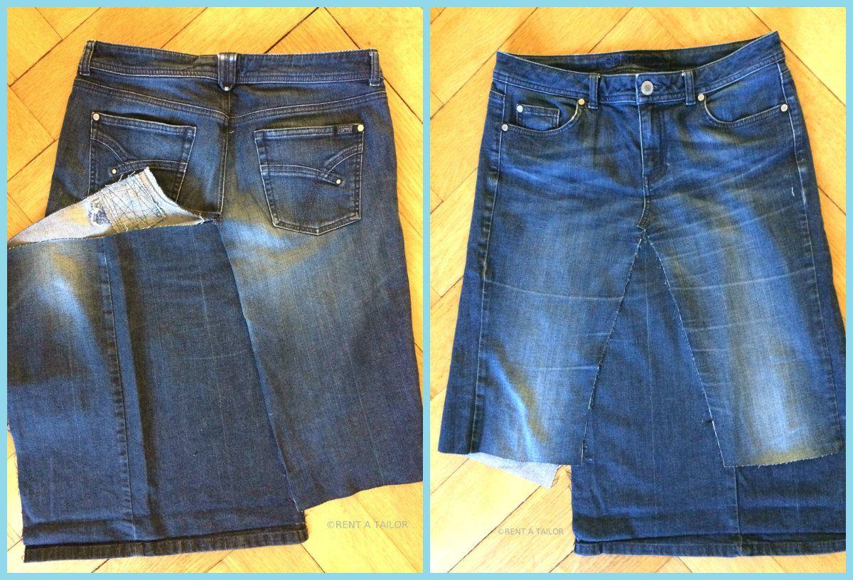jeans upcycling oder wie aus der hose ein rock wird n hen mode b nder upcycle sewing und jeans. Black Bedroom Furniture Sets. Home Design Ideas