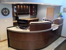 closed in front desk doctors office - google search   office