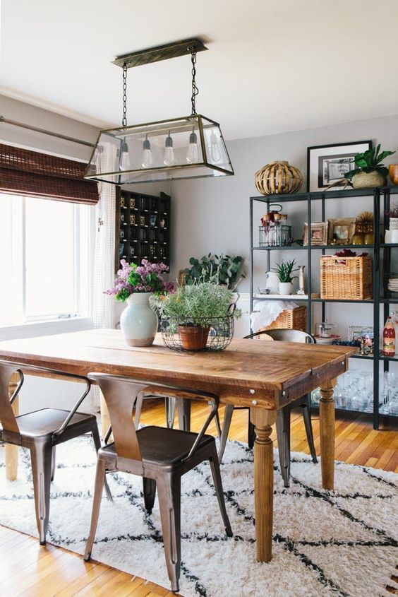 Building a dream house farmhouse inspired chandeliers rectangular chandelier rustic - Rustic dining room chandeliers ...