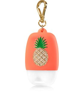 Gold Bling Pineapple Pocketbac Holder Bath Body Works Bath