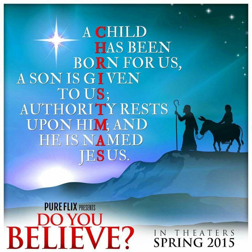 CHRIST OF CHRISTMAS. Christmas bulletin, Happy birthday