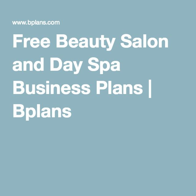 Free beauty salon and day spa business plans bplans new business free beauty salon and day spa business plans bplans flashek Image collections