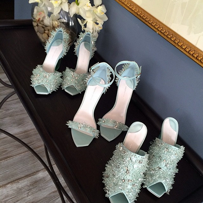 The 40 Most Stunning Shoes From New York Fashion Week - Christian Siriano