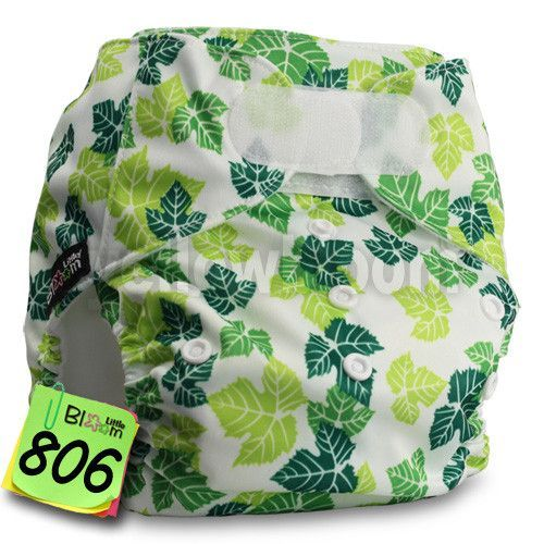 Baby Reusable Washable Cloth Pocket Nappy Diaper One Size Waterproof ,Select Different Closure from Popper or Hook-Loop fastener