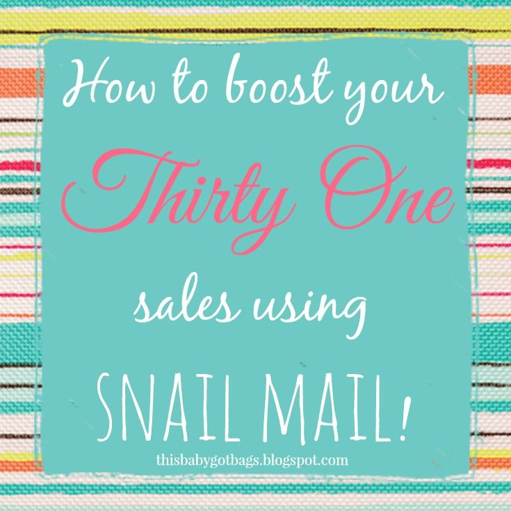 Thirty One Party Invites Real Mail Boosts Sales Thirty One