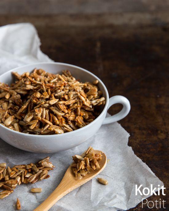 Honey Roasted Sunflowe Seeds – Hunajapaahdetut auringonkukansiemenet