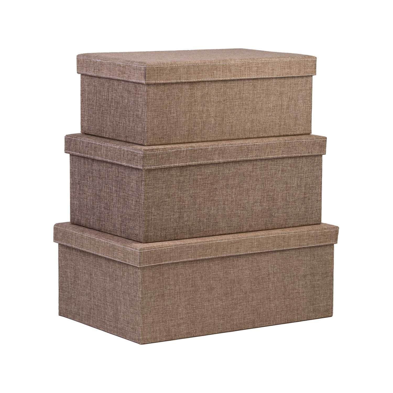Amazon.com Storage Box Set With lid 3-Pcs Fabric organizer boxes shelf basket bins with lid Decorative Stylish Closet Basket Fits in Any Room ...  sc 1 st  Pinterest & Amazon.com: Storage Box Set With lid 3-Pcs Fabric organizer boxes ...