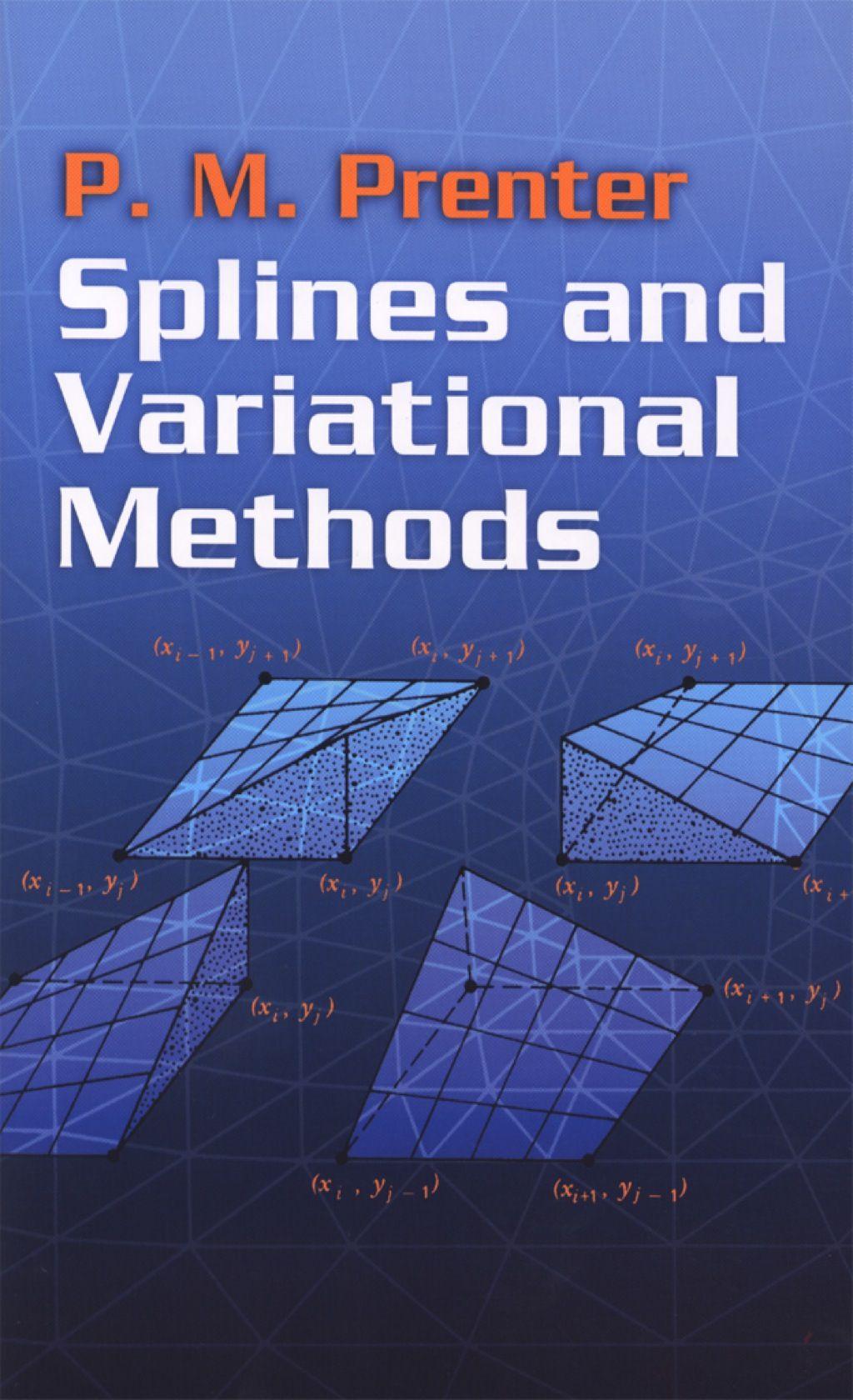 Splines And Variational Methods Ebook