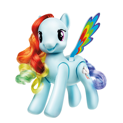 By My Little Pony My Little Pony Flip And Whirl Rainbow Dash