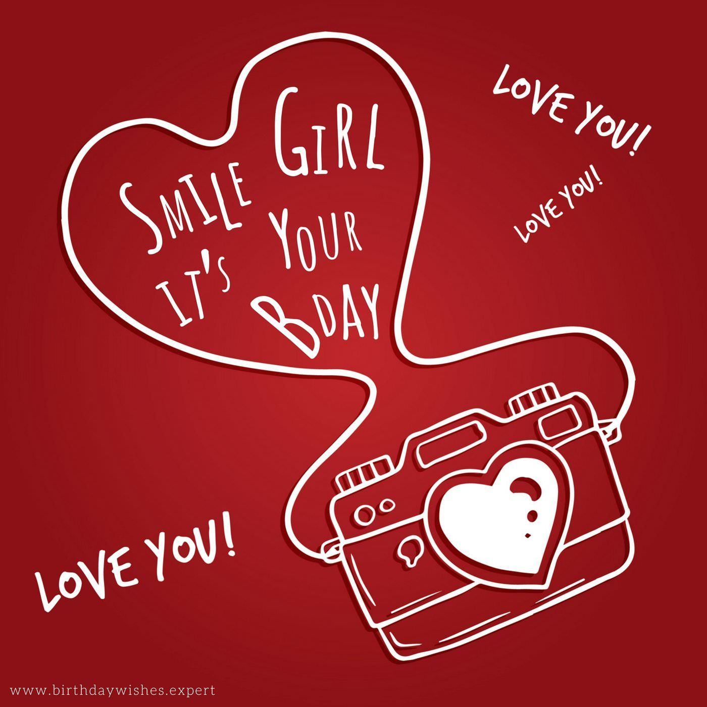 A Wish To Impress Her Greeting Card Pinterest Birthday Images