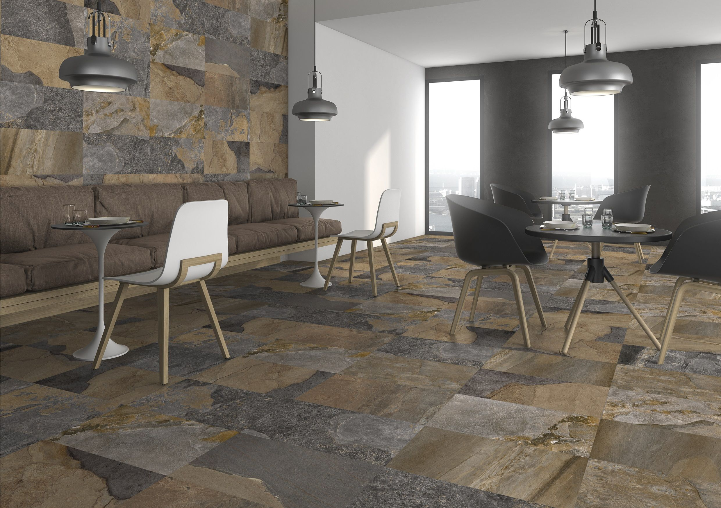 High quality wall and floor tiles that replicate the look of slate ...