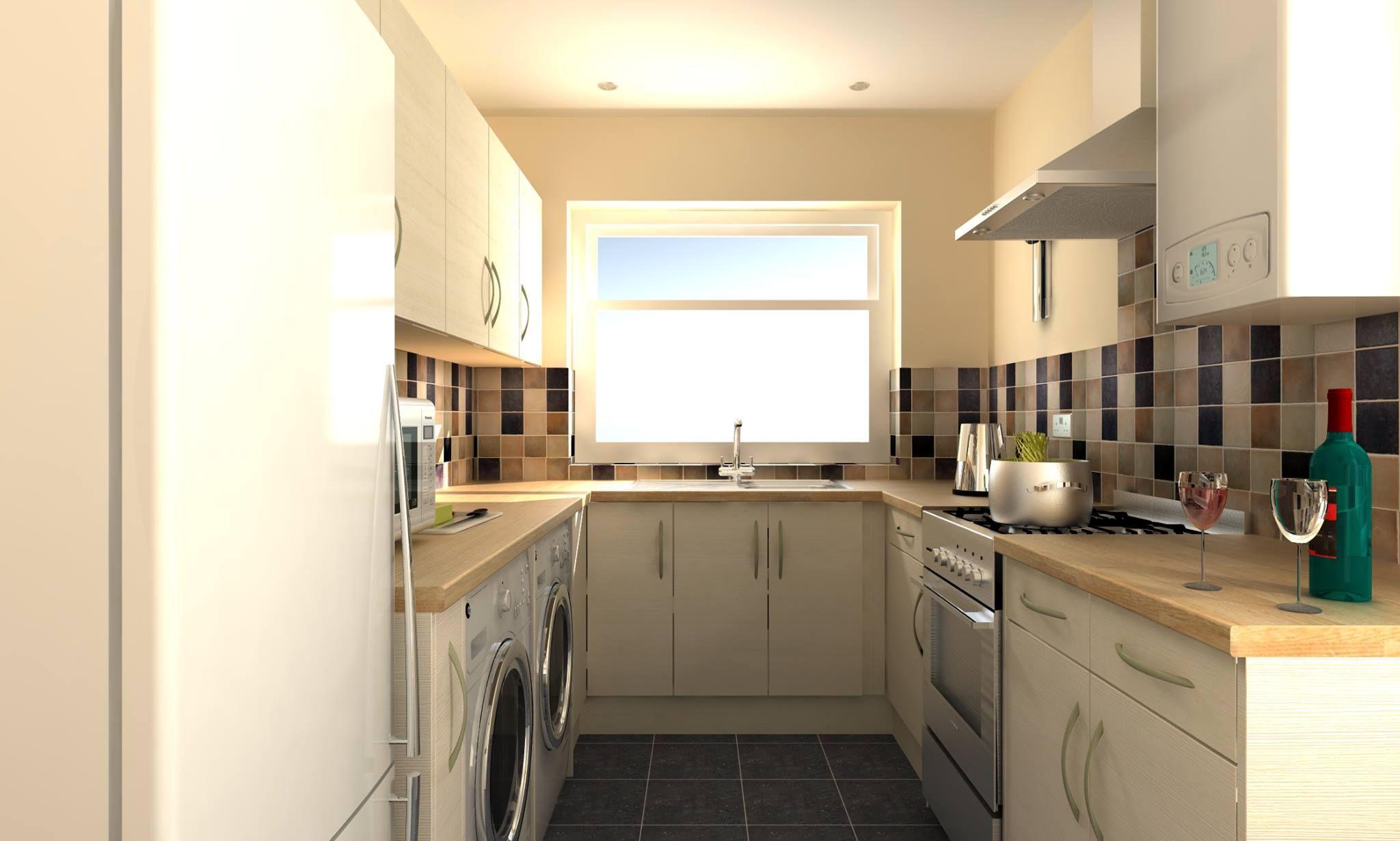 Kitchen Interior 3D Model/Rendering   Created By Darrel Carl Durose In  TurboCAD Pro Platinum