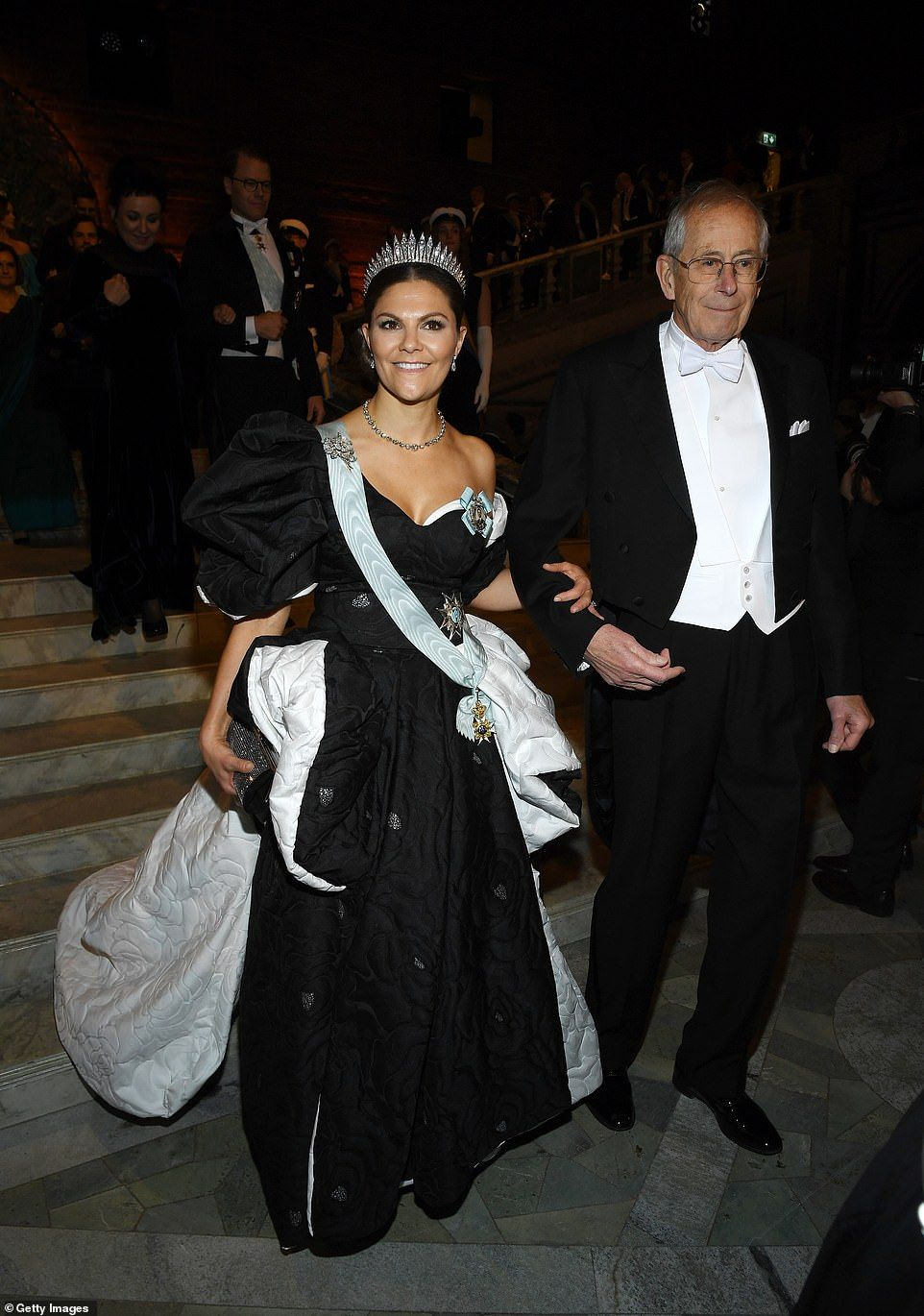 Swedish Royals Wow In Elegant Ball Gowns At The Nobel Prize