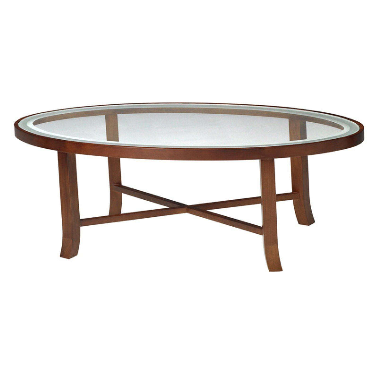 Mayline Illusion Glass Top Coffee Table In 2021 Coffee Table Oval Coffee Tables Glass Top Coffee Table [ 1600 x 1600 Pixel ]