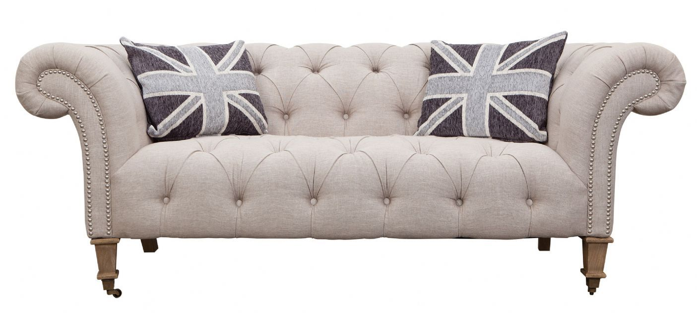 Fabric Chesterfield Sofa Bed Sofas Leather Chesterfield