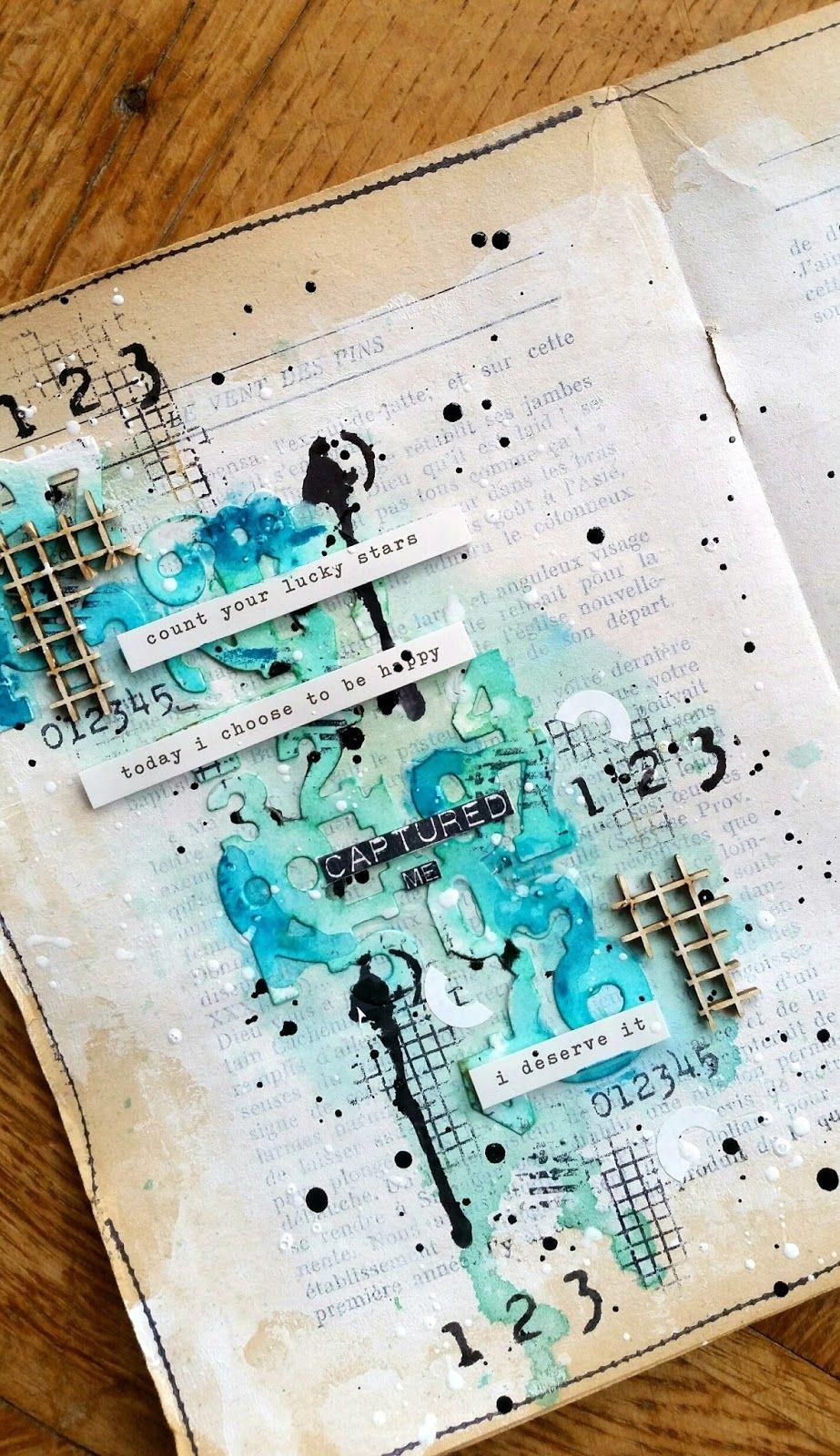 Art journal #artjournalmixedmediainspiration